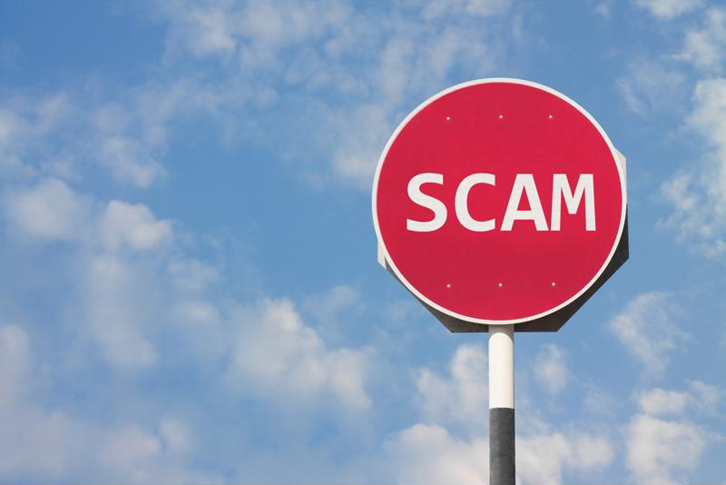 Act immediately if you suspect your service provider or mover is a scam artists.