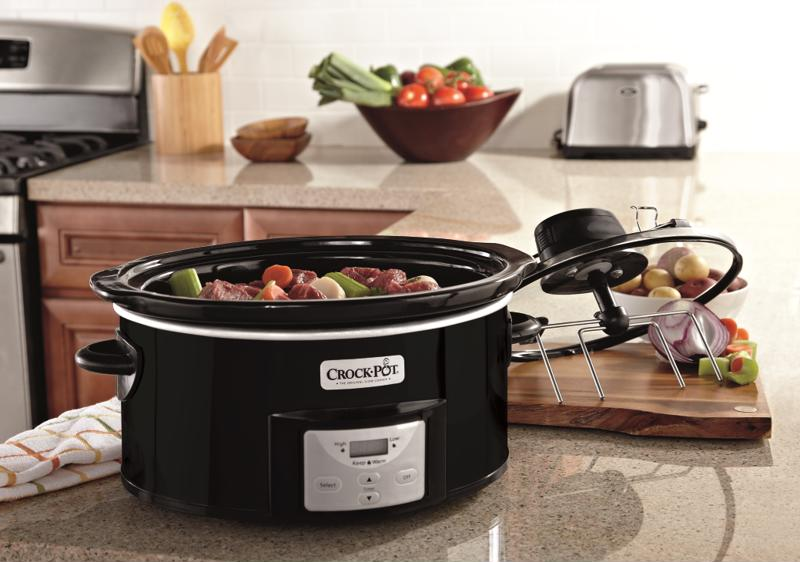 Digital slow cookers can be programmed to change heat settings by themselves.