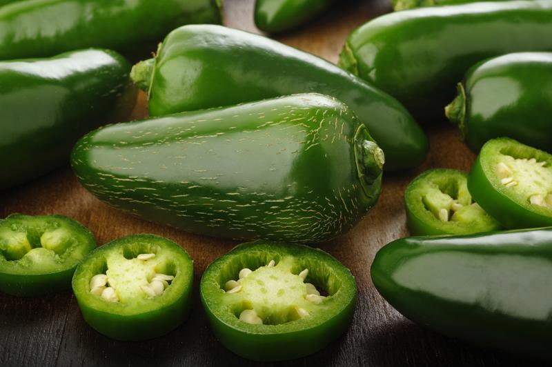 Jalapenos add a great flavor, but you can use serrano or habenaro instead.