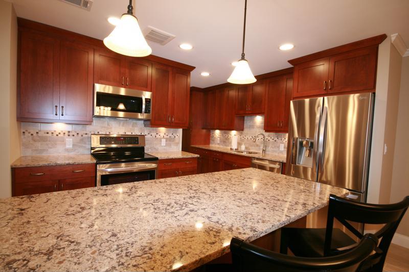 Create a spacious, quality kitchen.