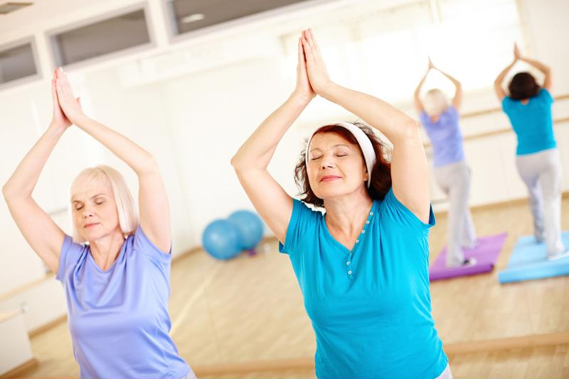 Enrolling in a group exercise class may help improve balance.