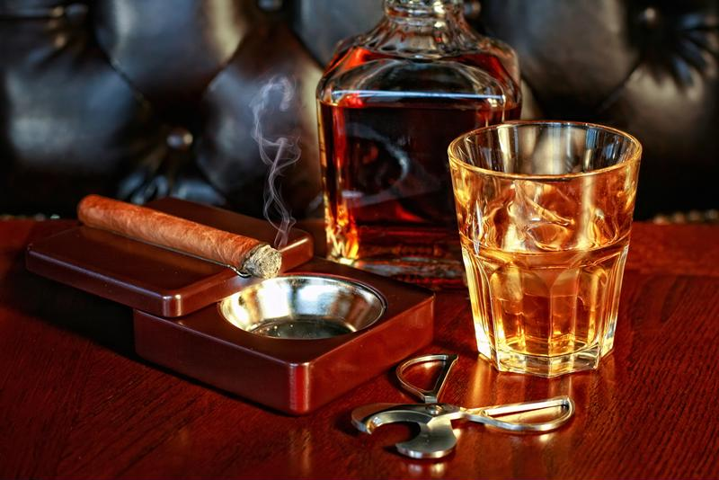 A Florida cigar bar was found to be dealing in shadier vices.