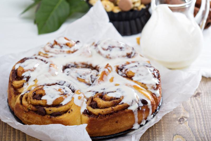 Create a decadent cinnamon bun casserole for the whole family to enjoy.