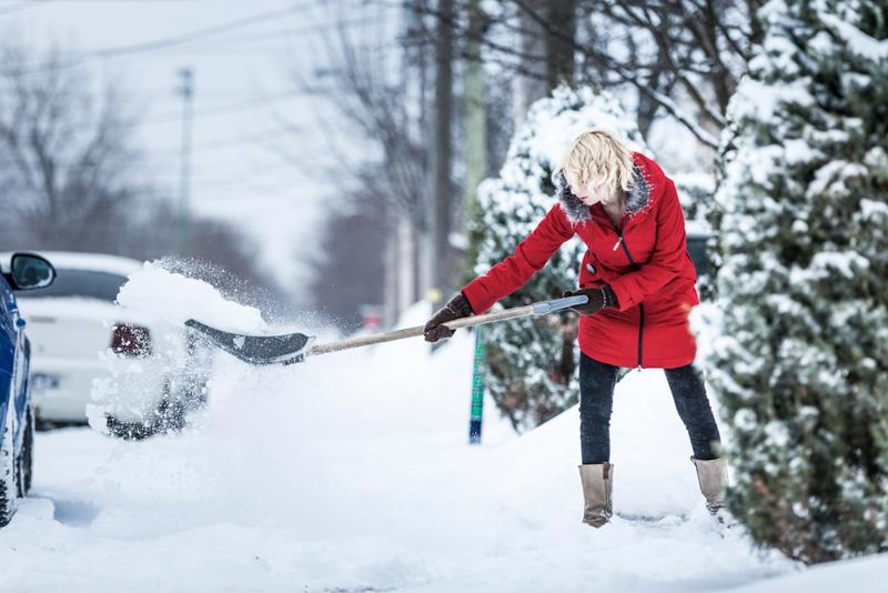 It's important to follow precautions and tips for before, during and after winter shoveling.
