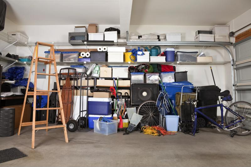 Tackle that cluttered garage to make room for your gear.