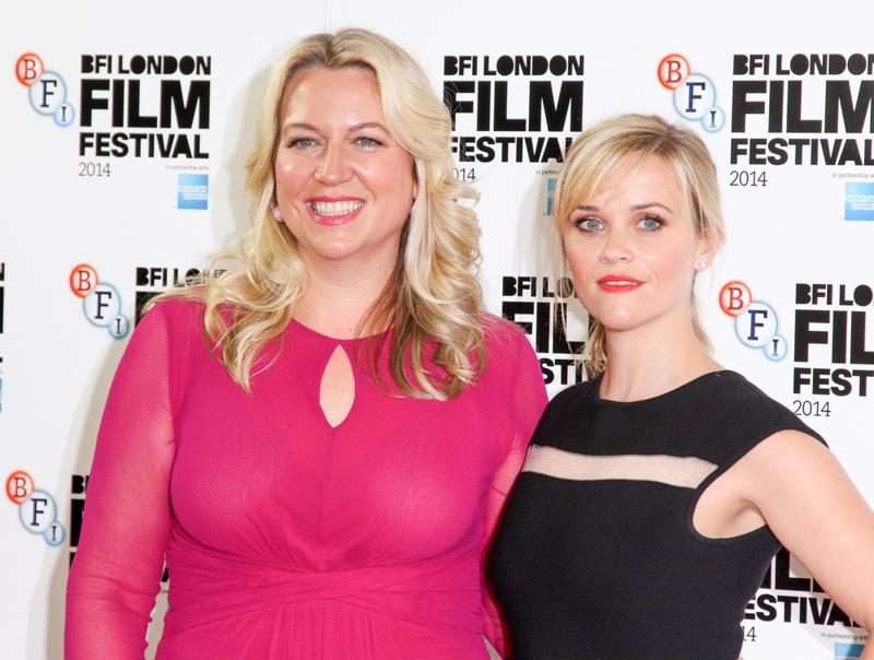 Cheryl Strayed and Reese Witherspoon at the 58th Annual BFI London Film Festival.