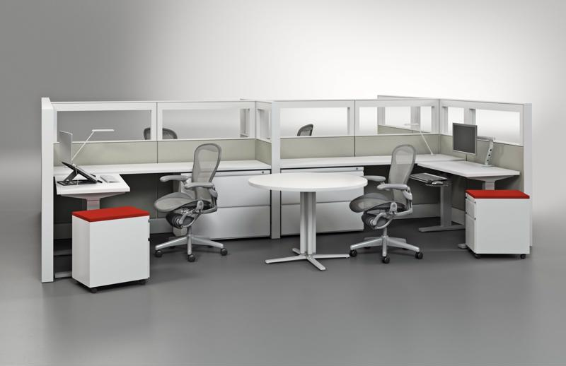 Ergonomic workstations can help workers find relief from text neck.