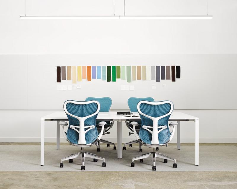 Wall color can really liven up a conference room, just make sure to pick the right color.