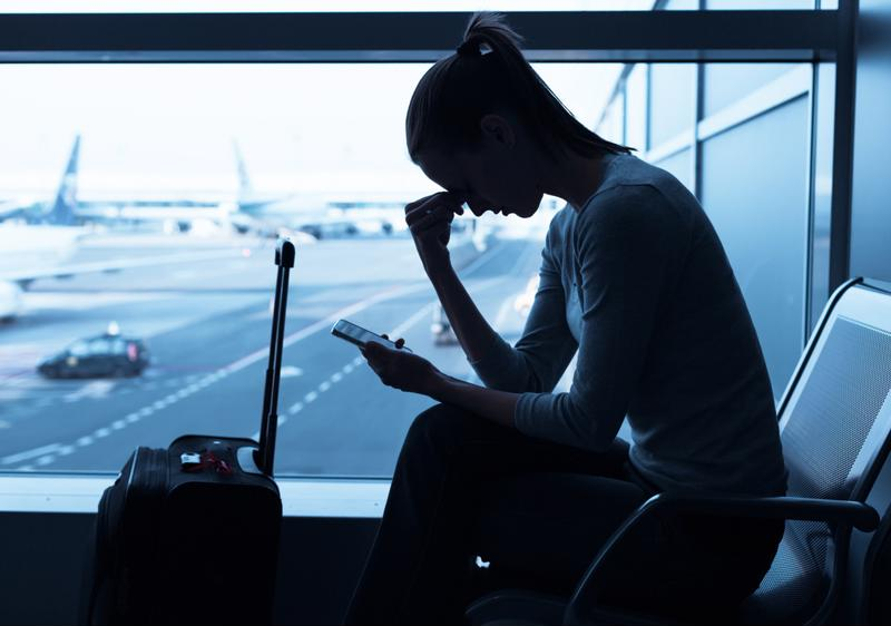Don't let hackers ruin your trip. Make sure the networks you connect to are secure.