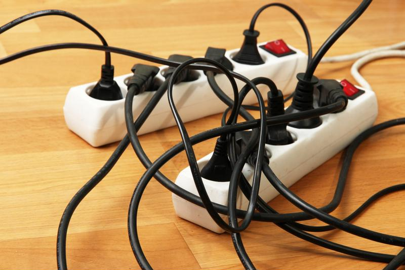 Your home can become a cluttered mess of cords with numerous surge protectors for all of your devices.