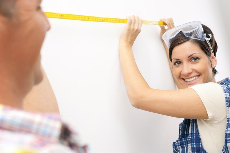 DIY home improvements are popular among young home owners.