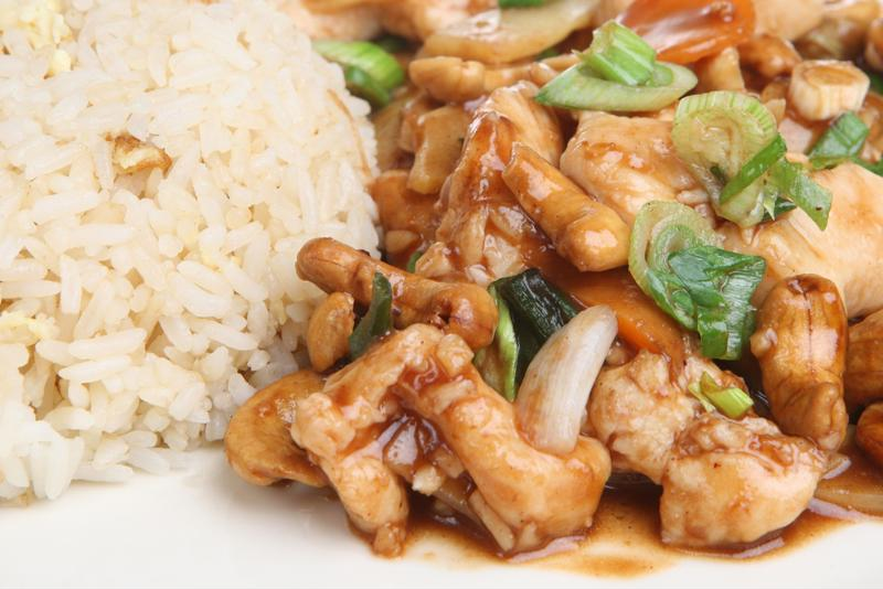 Sweet and savory, cashew chicken will be a family favorite.
