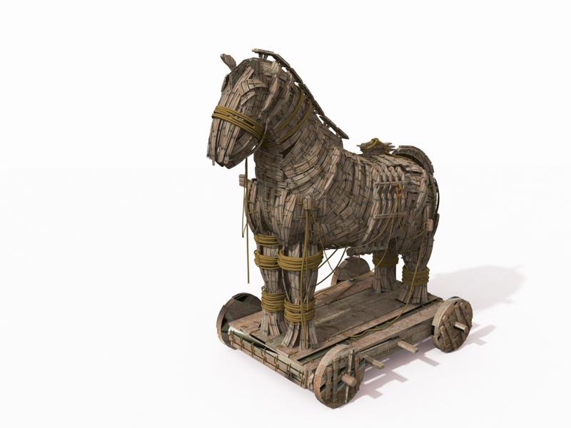 Drug treatments have something in common with the famous Trojan Horse.