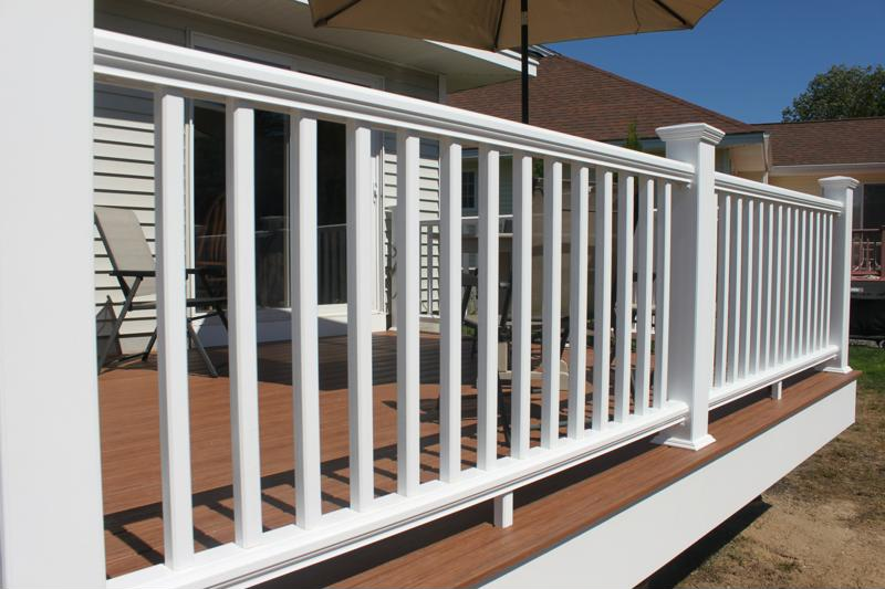 A great deck needs a great railing.