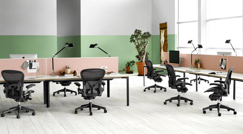 Researchers from Indiana University found the Herman Miller Aeron chair to be superior to a popular generic-brand alternative.