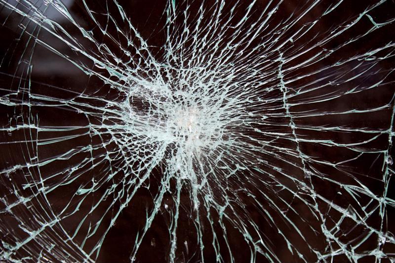 Window film helps keep the window intact even when it's broken.