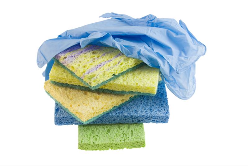 Grab a sponge and get to work on your pool equipment.