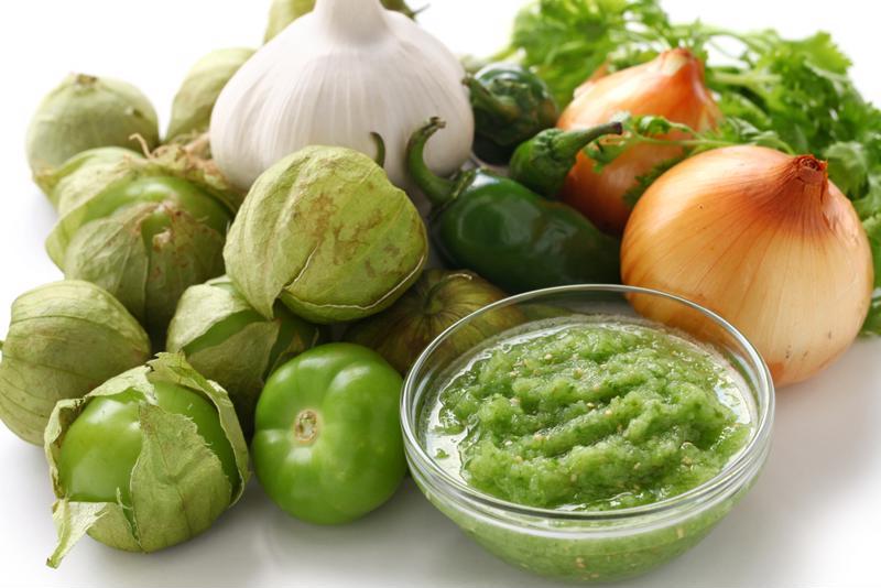 Grow tomatillos for salsa verde in your garden.