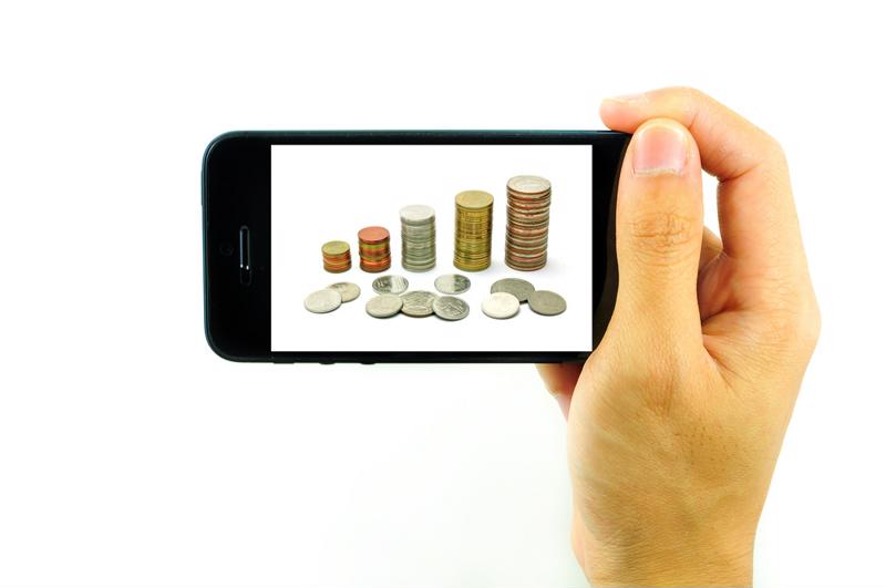 Using smartphones to send money is already becoming more common.