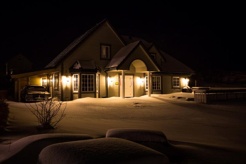 A well lit home is a safer home.