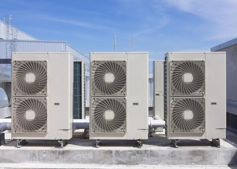 Try cleaning your roof and HVAC system this spring.