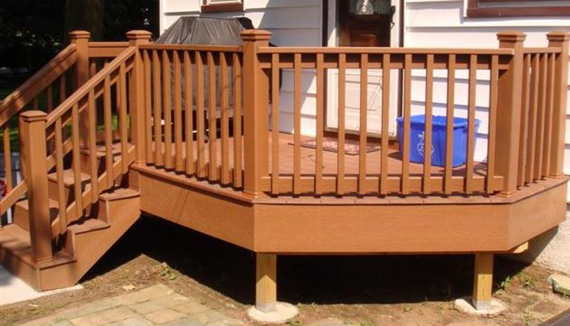 Discuss stains or finishes with your exterior designer to get the results you want.