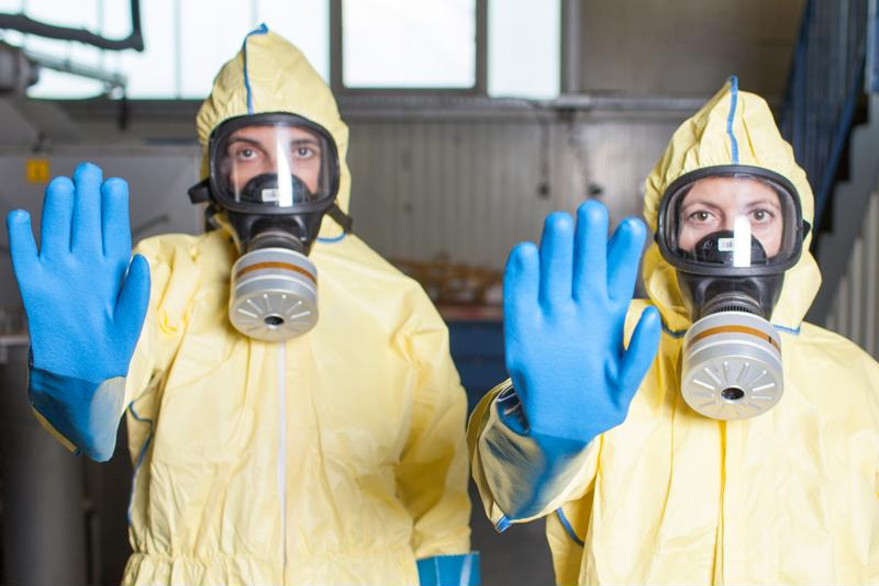 BSL-3 and -4 labs require high-grade PPE.