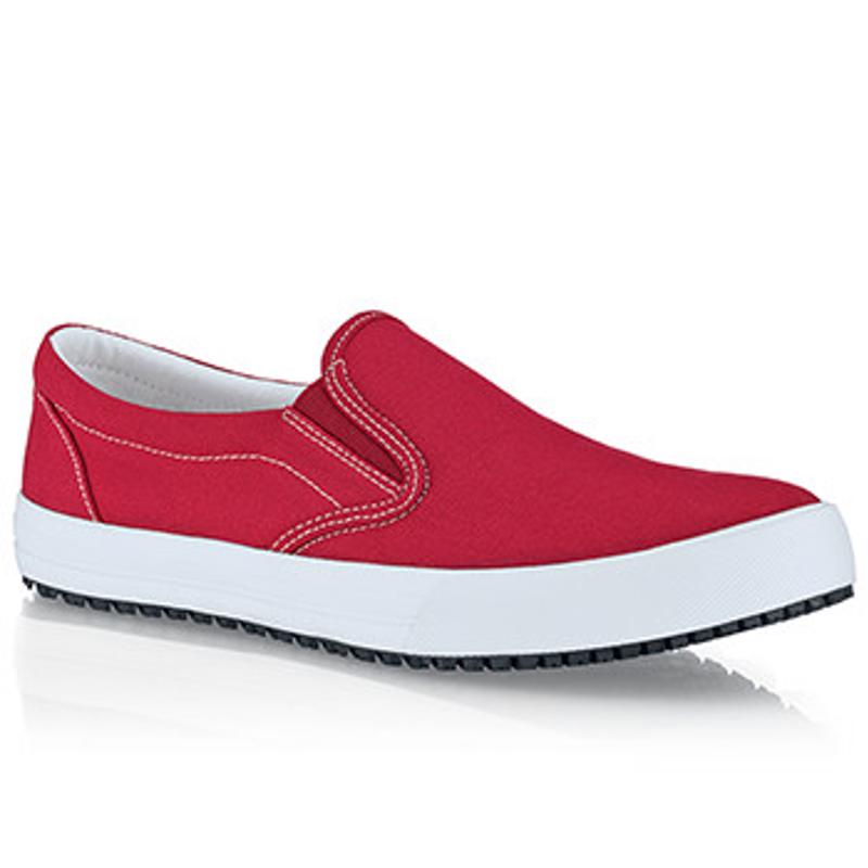 Bartenders can avoid the perils of the job, in style, with Shoes For Crews Ollie Canvas shoes.