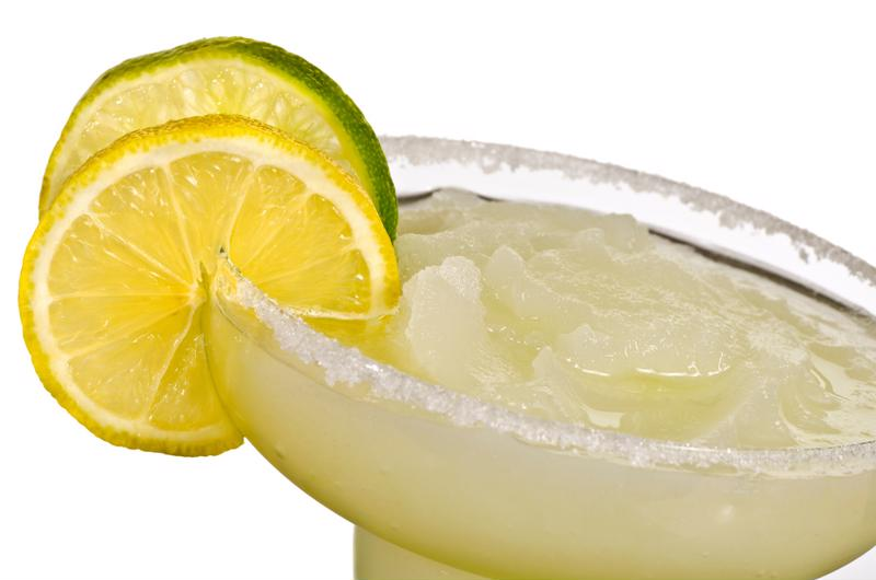 Celebrate the birth of an independent America with a frosty margarita.