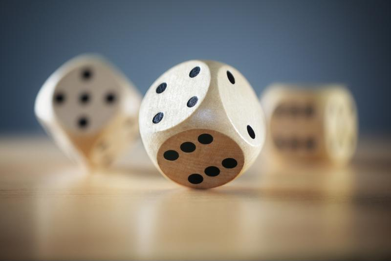 Rolling the dice with data security is risky business.