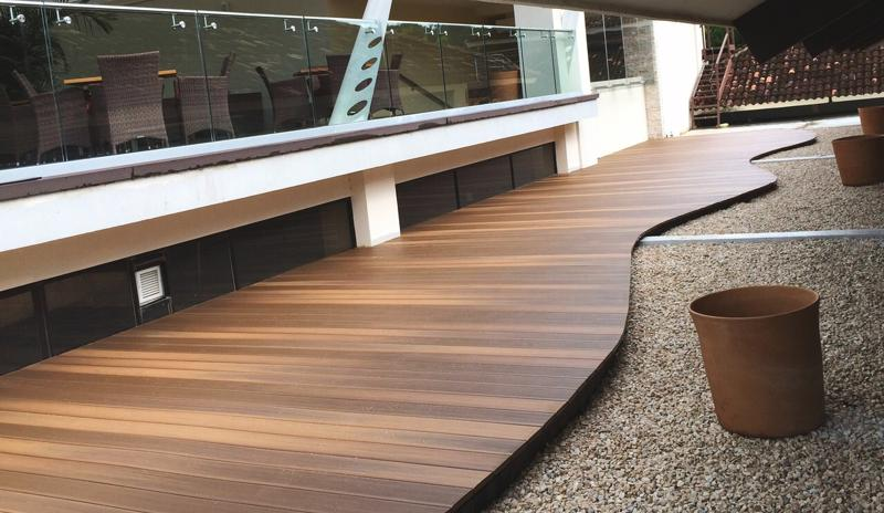 Decking style is always an important consideration.