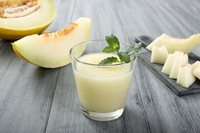 Honeydew melon is the perfect fruit for your party drink.
