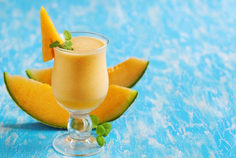 Load your smoothie with melon.