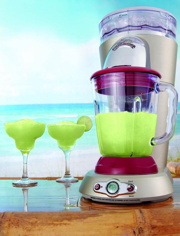 Bring a frozen concoction maker to your tailgate festivities.