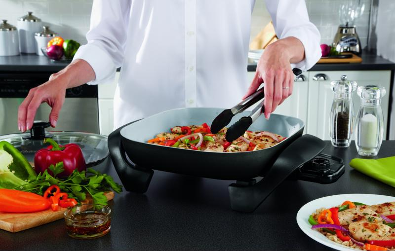 The electric skillet might become your kitchen go-to.
