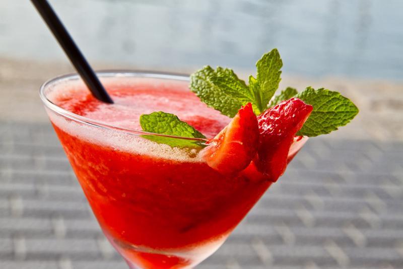 Make sure you choose blended drinks.
