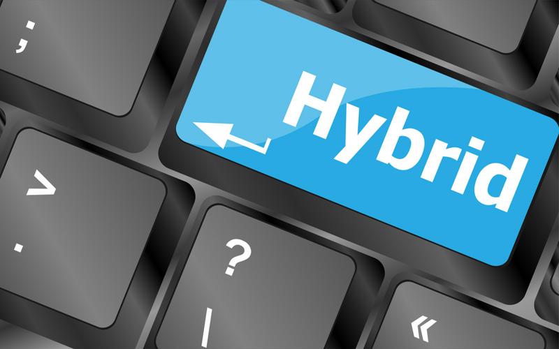 Hybrid IT environments can help organizations save money.