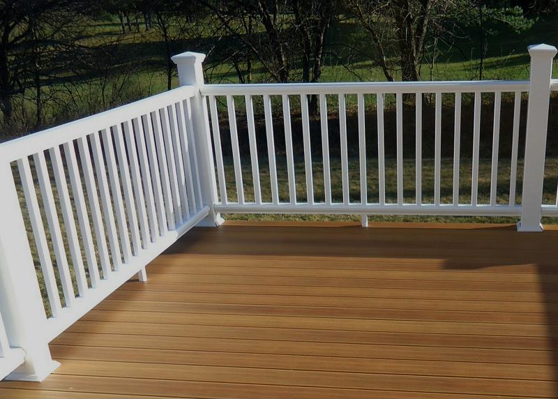 Capped composite railings the perfect way to revamp your for What is capped composite decking