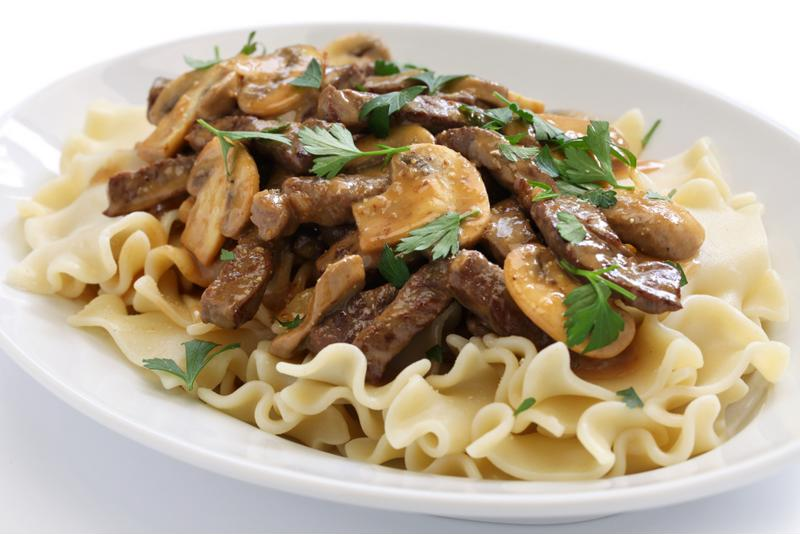 Stroganoff is a time-honored classic around the dinner table.