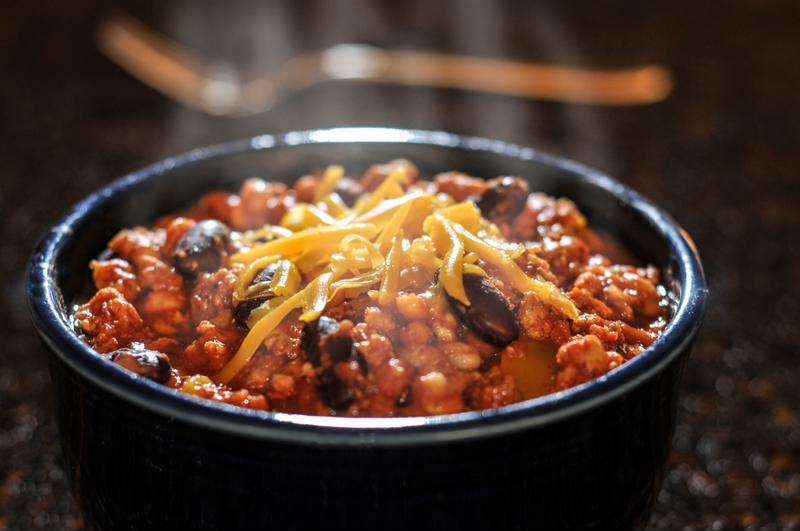 Add turkey to your chili.