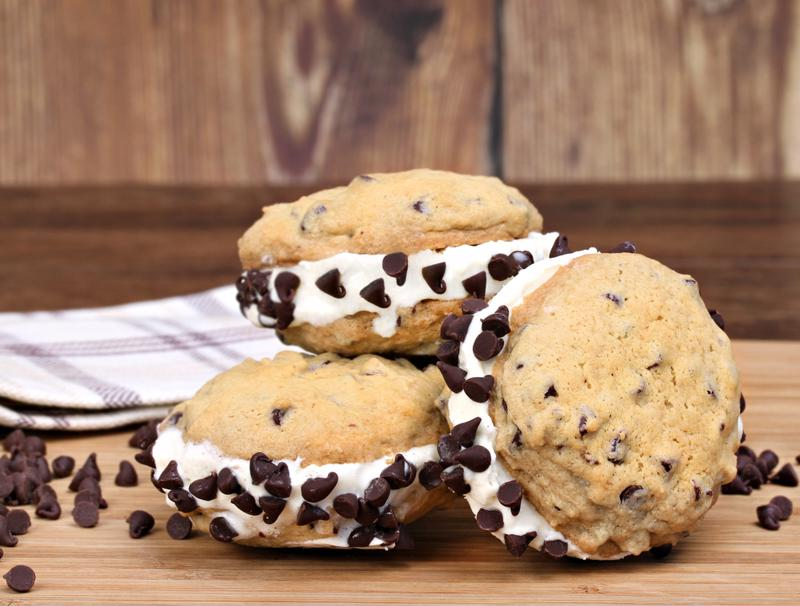 Top this traditional option with even more chocolate chips!