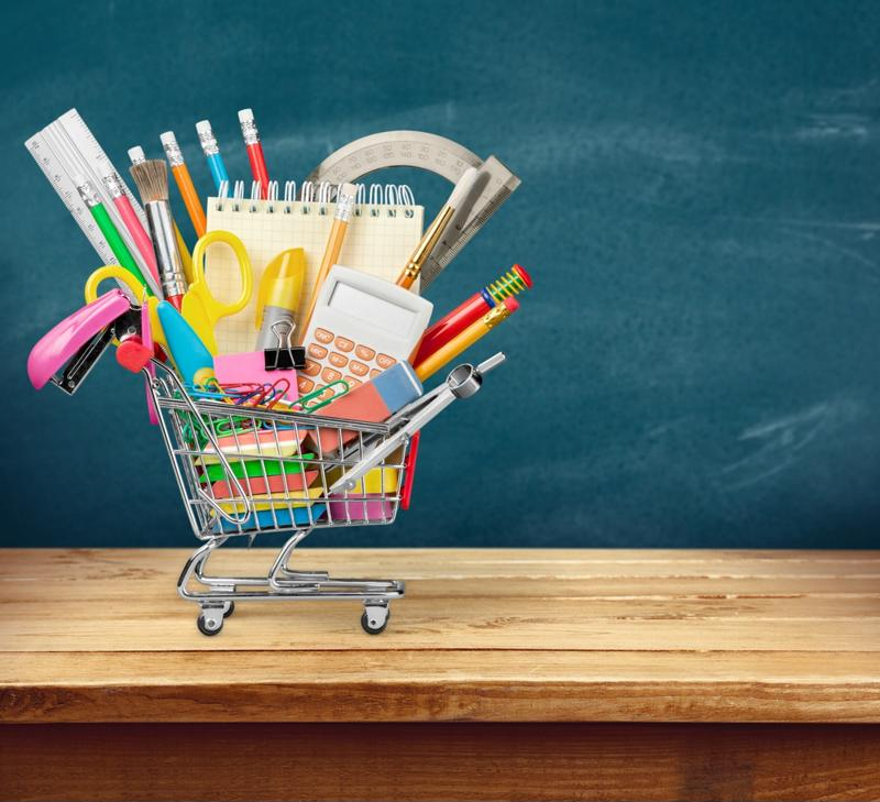 Check what you have before purchasing new back-to-school supplies.