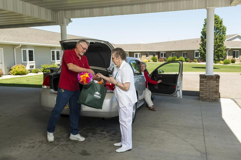 senior citizens, seniors, edgewood management, errands, Veteran's Day