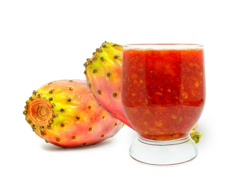 Make your own prickly pear margarita.