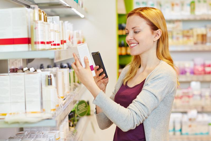 Customers will use smartphones to compare prices while in the store.