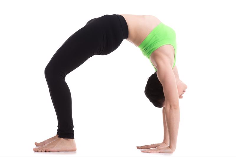 Do a back bend when you wake up to get the blood flowing.