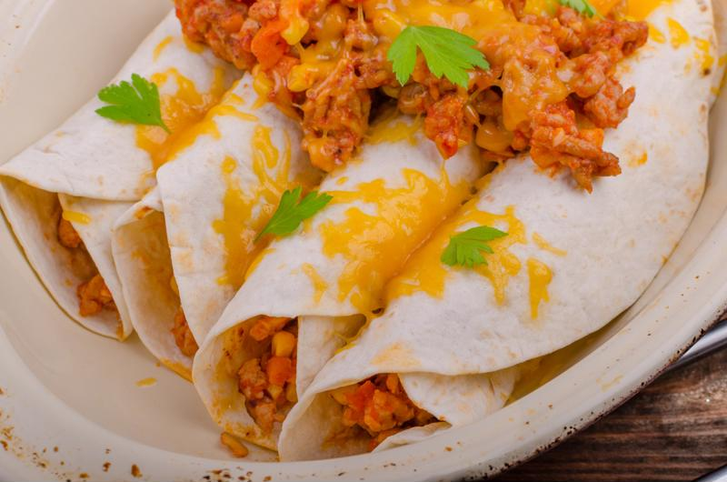 This recipe also makes a great low-calorie filling for burritos.