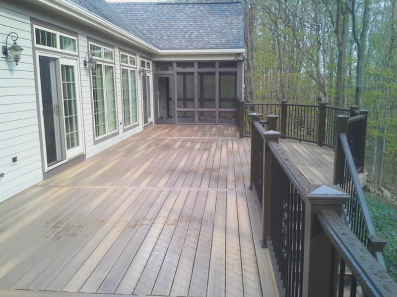 Capped composite decking gets the nod over wood for Capped composite decking prices