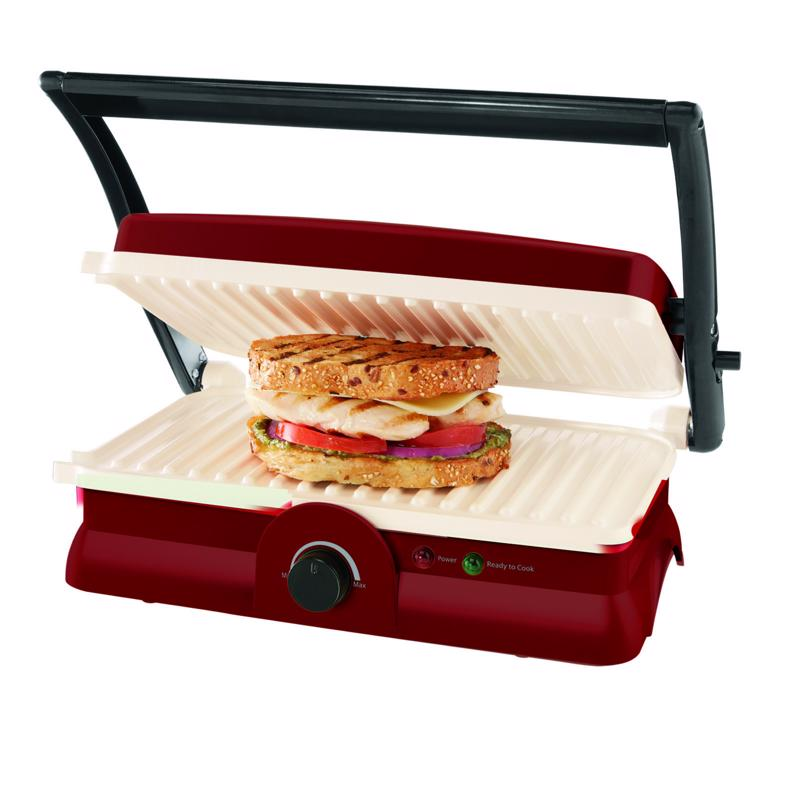 Use a panini maker to cook up the perfect sandwich.