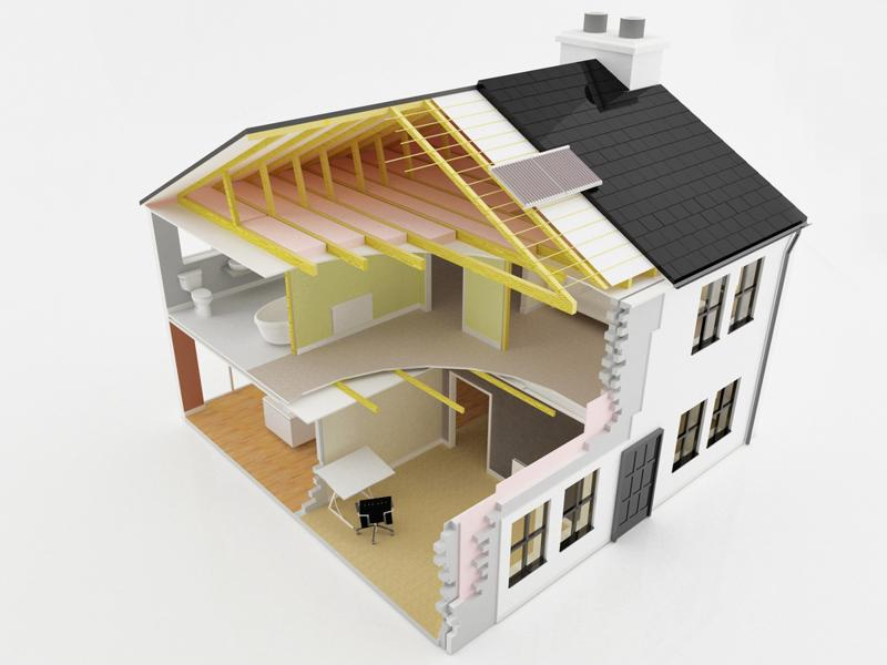 You can be as modern and efficient as you want when building a new home.